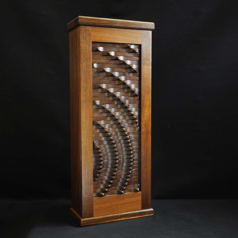 The Radial Wave Cabinet by Max McCance
